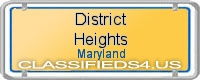 District Heights board